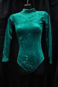 long-sleeved-crushed-velvet-leotard-keyhole-back-high-neck-new-dance-gymnastics