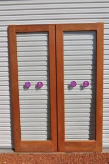 Jarrah Entry Doors   (glazed) Golden Bay Rockingham Area Preview
