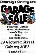 Big Garage Sale Coburg Coburg Moreland Area Preview