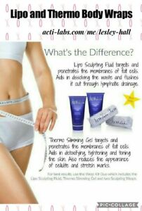 Actilabs Thermo or lipo wraps (HALF PRICE)