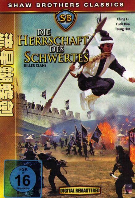 DVD NEU/OVP - Die Herrschaft des Schwertes - Shaw Brothers Classics