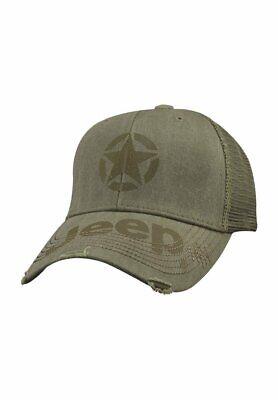 Trucker Olive (Jeep Cap Kappe Basecap olivgrün used Look Mopar 12A5R Olive Trucker Hat )