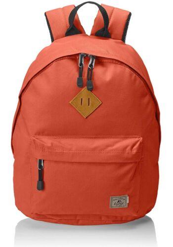 Men Women Orange School Travel Hiking Everest Backpack Bag