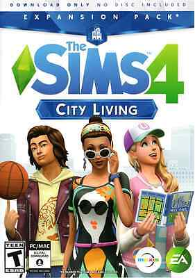 Brand New Sealed The Sims 4  City Living Expansion Pack Windows Or Mac Pc Game
