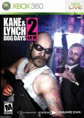 Used, Kane & Lynch 2: Dog Days (Microsoft Xbox 360, 2010) *COMPLETE* for sale  Shipping to India