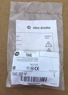 Lot Of 30 New Allen Bradley 194e-e32-np Additional Poles