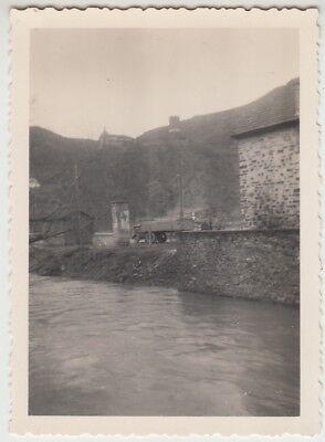 (F29051) Orig. Foto Burgen an der Mosel, Partie 1940