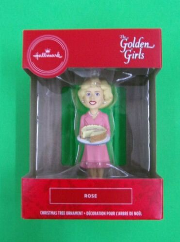 Rose - From The Golden Girls - Hallmark Red Box Christmas Tree Ornament - NEW
