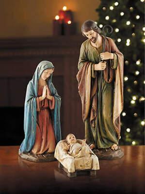 Outdoor Nativity Set 16 inch Scene Holy Family Jesus Mary Joseph Italian Style