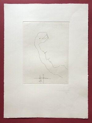 Jonas Hafner, Selbst, Radierung, 1975, handsigniert und datiert