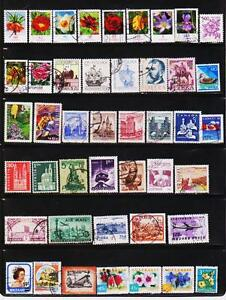 WORLDWIDE-200-DIFFERENT-USED-STAMPS-COLLECTION-LOT-1025