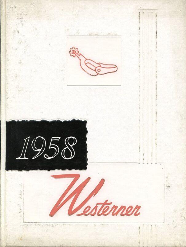 1958 West High School Yearbook - Denver, Colorado