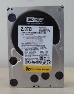 Western Digital 2TB (2000 GB) 7200 RPM SATA HDD 3.5