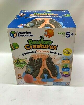 Learning Resources Beaker Creatures Bubbling Volcano Reactor NEW