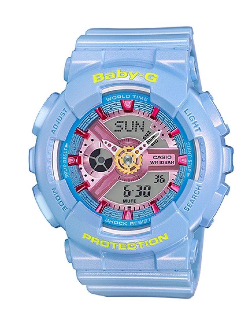 Casio Baby-G * BA110CA-2A Neo Pastel Blue Anadigi Watch Ivanandsophia COD PayPal