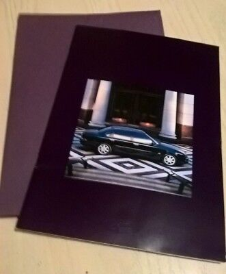 FORD Scorpio Car Product Catalogue Brochure Book 1998 in Cardboard Wallet Sleeve