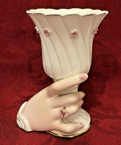 Rare Vintage 1962 Vase Held By Lady