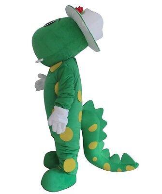 New Dinosaur Mascot costume adult for kids party Dorothy Book week](Dinosaur Costumes For Kids)