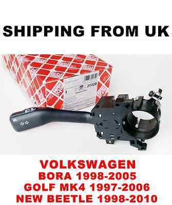 INDICATOR STALK W/O CRUISE TURN SIGNAL SWITCH VW BORA GOLF MK4 NEW BEETLE   FEBI