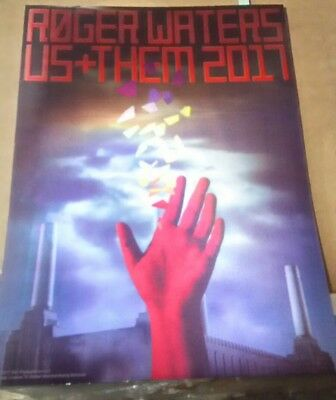 Roger Waters Us+Them 2017 3D lenticular