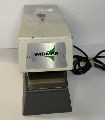Widmer Time Recorder Co Electronic Date Time Stamp Model T-3 T3 Key