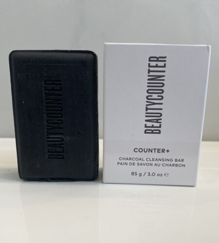 BeautyCounter Counter+ Charcoal Cleansing Bar 3 oz -in Box! Beauty Soap
