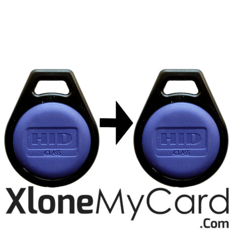 Copy / Clone HID iClass / iClass SE Key Fob