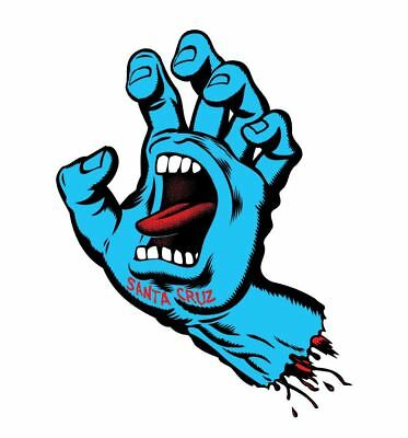 "Santa Cruz Stickers - Screaming hand - 7.5cm / 3"""