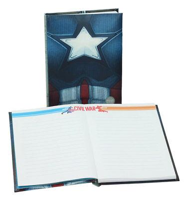 Captain America Brust (Captain America Civil War Notebook Light Up Captain America Brust Toys Iron Man)