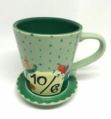 Disney Parks Alice in Wonderland Mad Hatter 10/6 Mad Tea Party Mug - 10 6 Mad Hatter