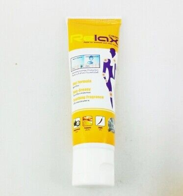 50g. RELAX CREAM Hot formula massage cream for stressed Best muscle pain (Best Pain Relief For Migraine Headaches)