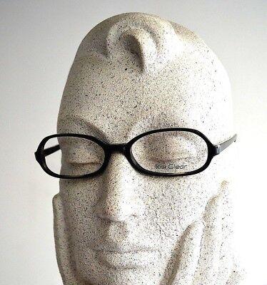 TESI Clear Brille 122 01 50[]16 135 Designer Eye Frame Black Grey Ipotesi Italy