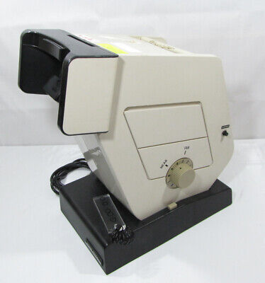 Military Optec 2300 Vision Stereoscope Optical Eye Tester Working Wslides