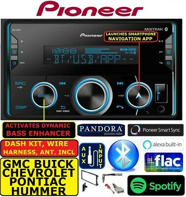 CHEVY-GMC CAR TRUCK VAN SUV PIONEER AM/FM BLUETOOTH USB MP3 RADIO STEREO PKG