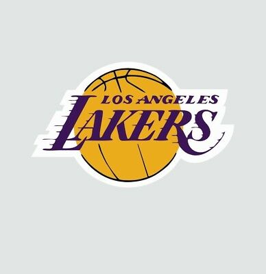 Los Angeles LA Lakers NBA Basketball Color Sports Decal Sticker-Free Shipping (La Laker)