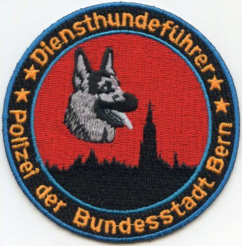 SWITZERLAND POLIZEI K-9 POLICE PATCH