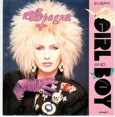 """<549> 7"""" Single: Spogna - Every Girl And Boy / Don't Call It Love"""