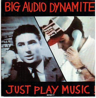 "<548> 7"" Single: Big Audio Dynamite - Just Play Music! / Much Worse"