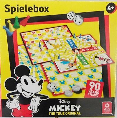 Spielebox Disney MICKEY The True Original ASS Altenburger  Disney Spiele
