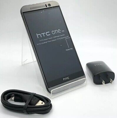Good Condition!! HTC One M9 - 32GB - Gray - Unlocked - Fast Shipping!!