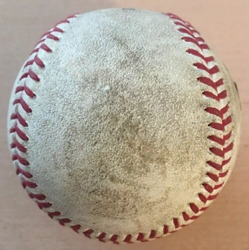 MLB COA Troy Tulowitzki Single Game Used Baseball 6/26/15 Colorado Rockies Vs SF