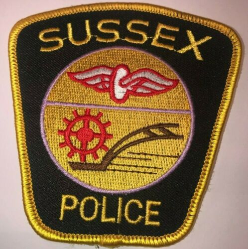 Sussex Police Collectible Patch Canada
