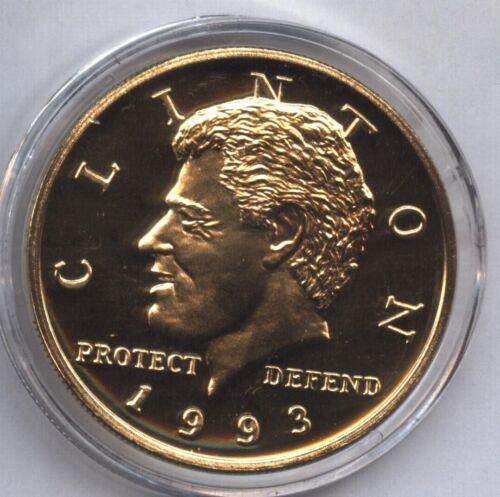 1993 HUTT RIVER PROVINCE Australia $20 Dollars * BILL CLINTON Inauguration Coin