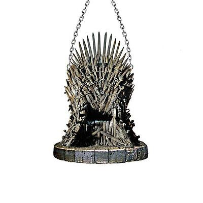 GAME OF THRONES HOUSE Iron Throne Christmas Ornament, 4.25
