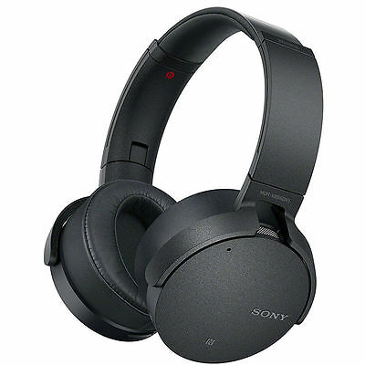 Sony MDR-XB950N1 Headphones Bluetooth Noise Cancel Extra Bass Blk MDRXB950N1 #95