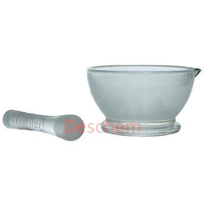 75mmglass Mortar Pestlenew Adcance Lab Chemistry Glassware