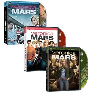 Veronica Mars Complete Series Seasons 1 2 3 1-3 DVD SETS First Second Third