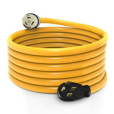 15 Foot Generator Power Cord 50 Amp 14-50p To Cs-6364 Locking Connector New
