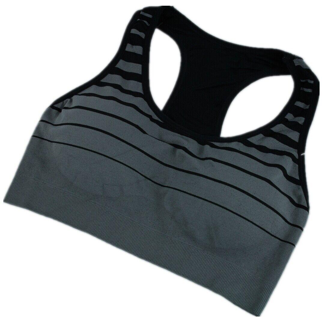Damen Sport BH Comfort BH Soft-Einlage Bustier Bra Top Push Up  #3156