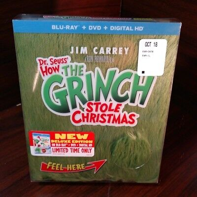 Grinch Fur (Dr. Seuss How The Grinch Stole Christmas-Deluxe Edition(Blu-ray+DVD)Fur)